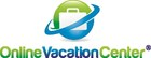 Online Vacation Center logo stacked